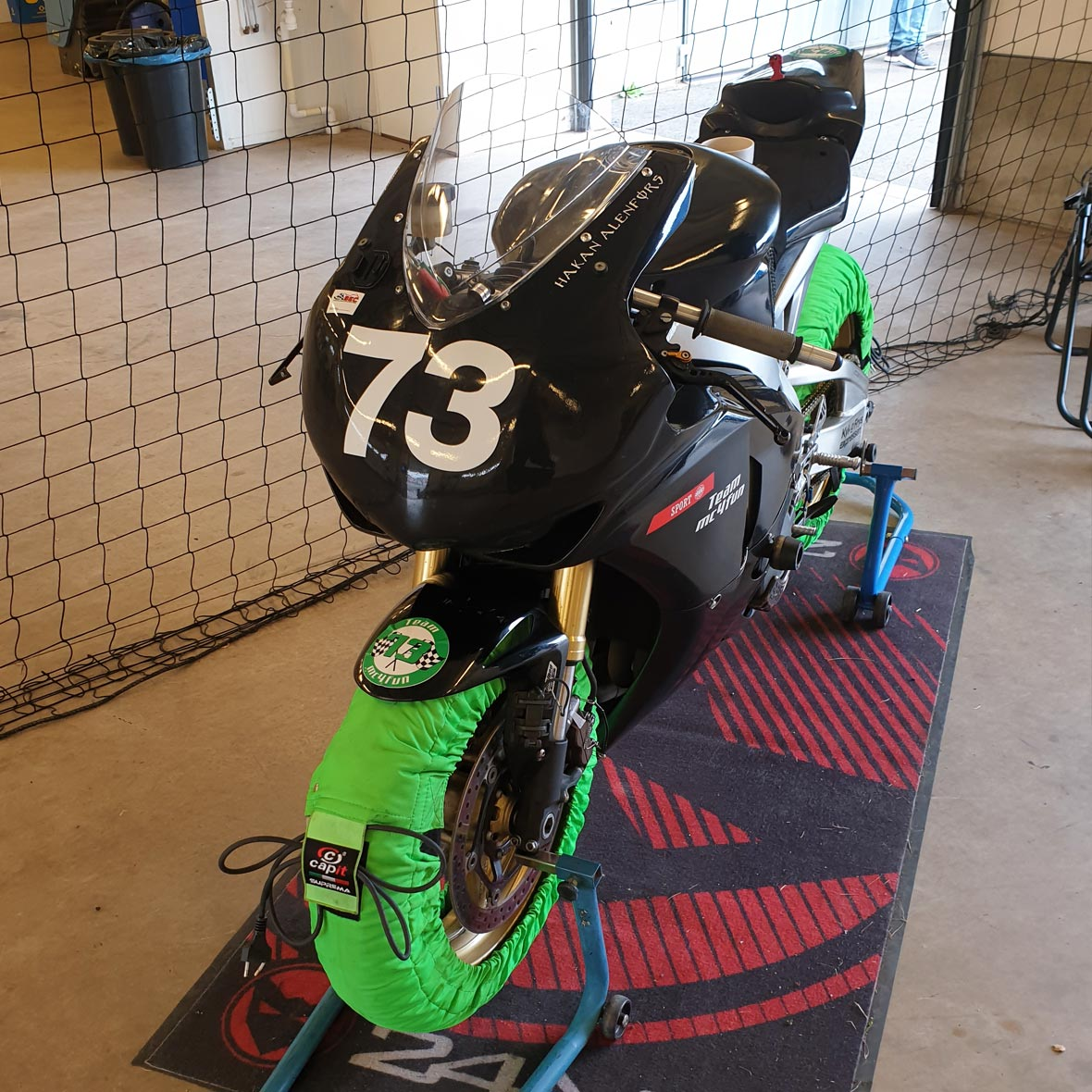 Honda CBR1000RR - Team mc4fun - Håkan Alenfors