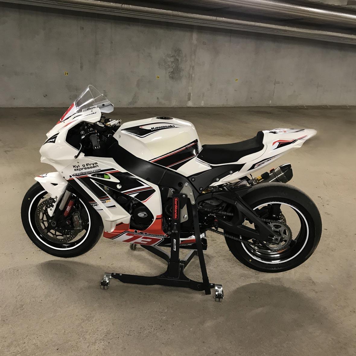 Kawasaki ZX10R - Team mc4fun - Lasse Hedlund